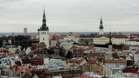 Estland Wahlen Estonia (picture-alliance/dpa/V.Kalnina)