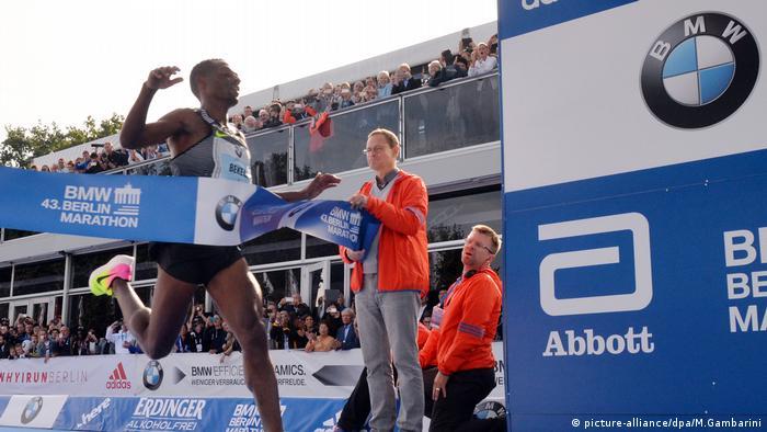 Kenenisa Bekele Berlin Marathon (picture-alliance/dpa/M.Gambarini)
