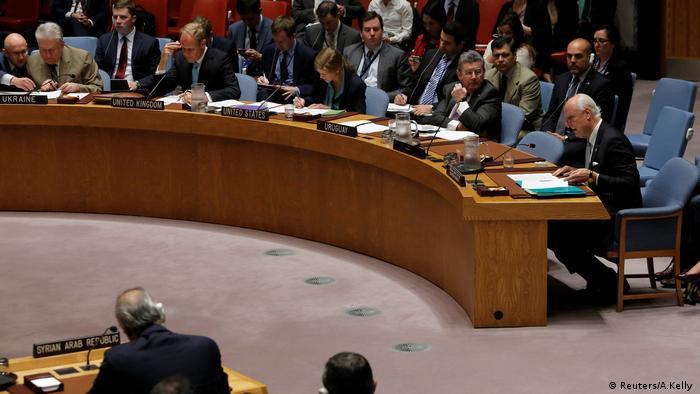 Diskussion zu Syrien im Sicherheitsrat Ende September (Reuters/A.Kelly )