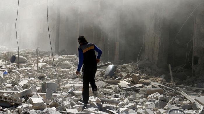 Syrien Aleppo Zerstörungen (Reuters/A. Ismail )