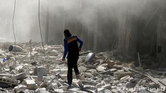 Syrien Aleppo Zerstörungen