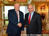 ترامب يتعهد لنتانياهو بالاعتراف بالقدس عاصمة موحدة لإسرائيل
