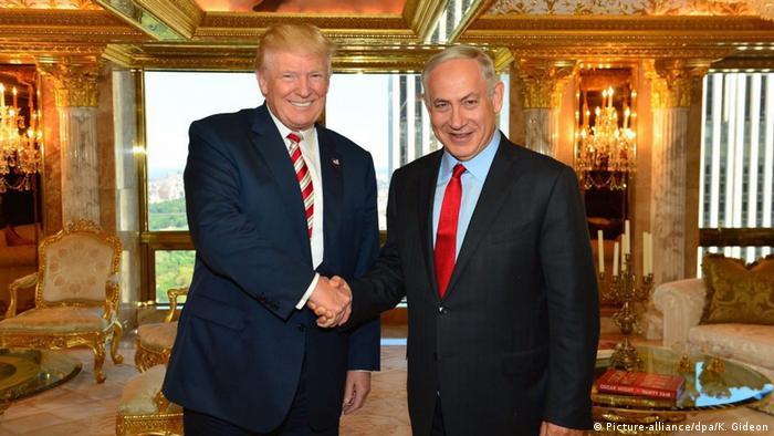 Trump ve İsrail Başbakanı Netanyahu New York'ta Eylül ayında bir araya gelmişlerdi.