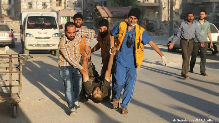 Syrien Bürgerkrieg Aleppo (GettyImages/AFP/A. Alhalbi)