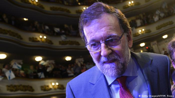 Spanien Wahlen Mariano Rajoy (Getty Images/AFP/M. Riopa)