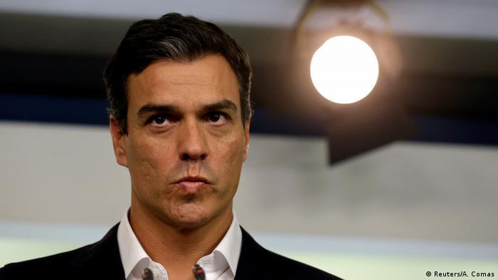 Spanien Wahlen Pedro Sanchez PSOE (Reuters/A. Comas)