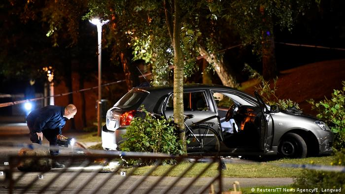 Schweden Schießerei in Malmö (Reuters/TT News Agency/E. Langvad )