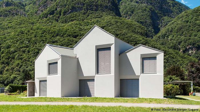 Проект архитектурного бюро Davide Macullo Architects из швейцарского Лугано