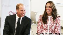 GB Royals zu Besuch in Kanada Prinz William mit Kate