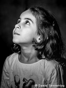 Aya, 6, from Iraq, from Daniel Sonnentag's photo series They Have Names