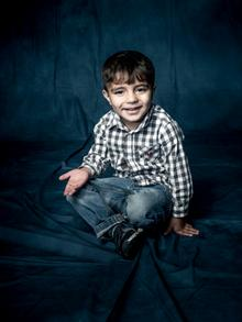 Fayik from Iraq in Daniel Sonnentag's photo series They Have Names