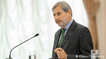 Єврокомісар Йоганнес Ган