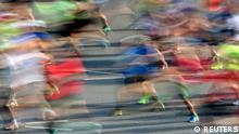 Runners compete at the Berlin marathon in Berlin