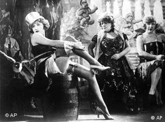 Marlene Dietrich interpretou Lola-Lola no famoso filme