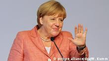 Deutschland Angela Merkel auf dem Tourismusgipfel