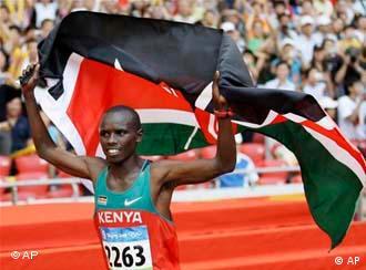 Marathonsieger Samuel Kamau Wansiru