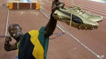 Usain Bolt gewinnt Gold bei Olympia China 2008