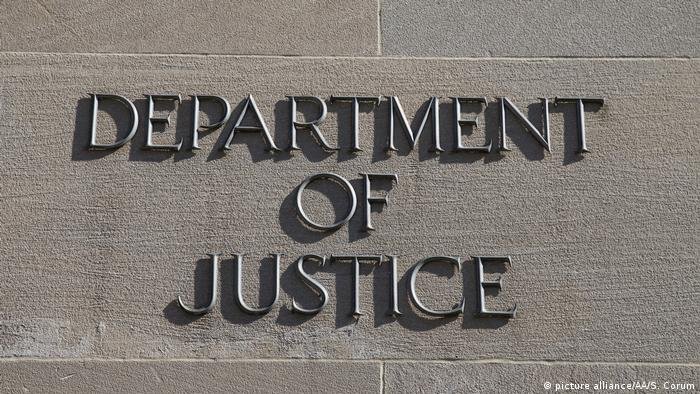 USA Washington Department of Justice (picture alliance/AA/S. Corum)