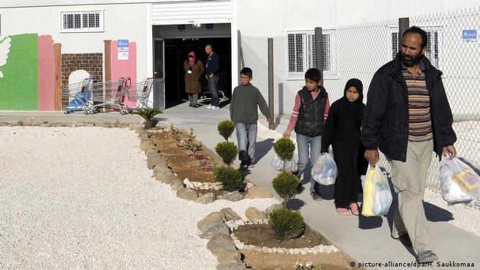 Ürdün'deki Zaatari mülteci kampı