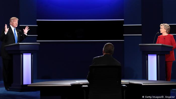 USA Wahlkampf TV Duell (Getty Images/D. Angerer)