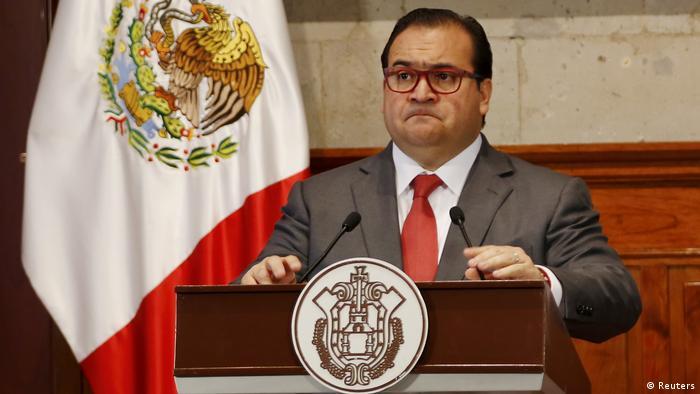 Mexiko Javier Duarte, Governor von Veracruz (Reuters)