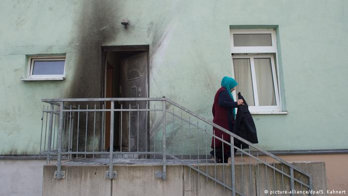 Deutschland Sprengstoffanschläge in Dresden