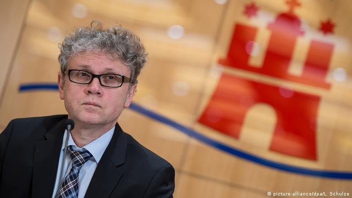 Hamburgs Datenschutzbeauftragter Joahnnes Caspar