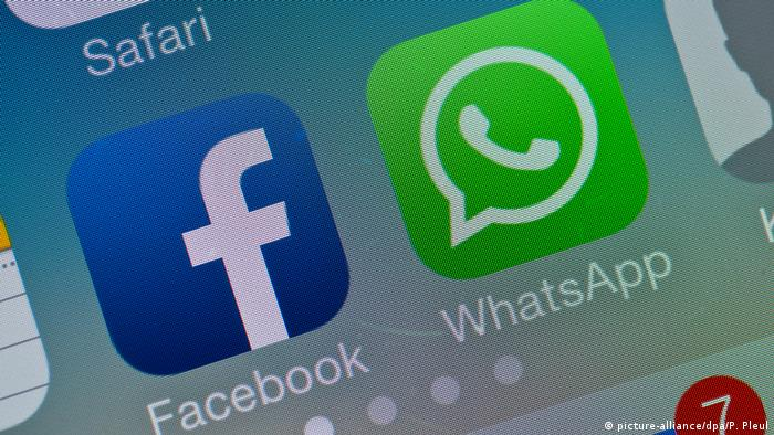 Facebook - WhatsApp (picture-alliance/dpa/P. Pleul)