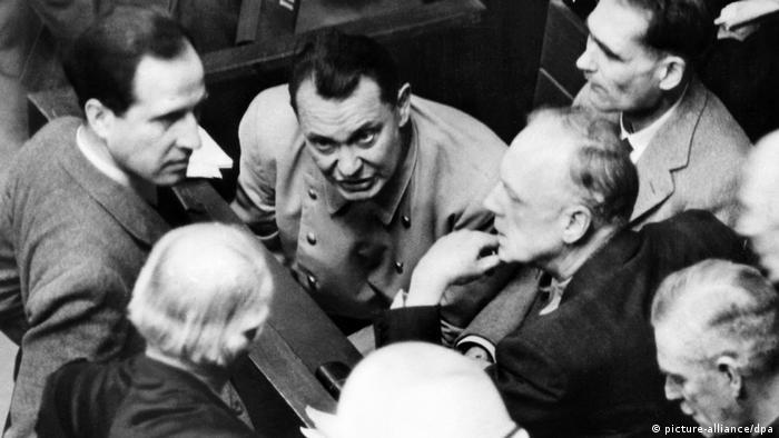 Deutschland Nürnberger Prozesse (picture-alliance/dpa)