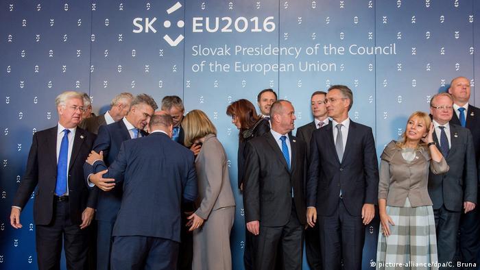 Slowakei Treffen EU Verteidigungsminster in Bratislava