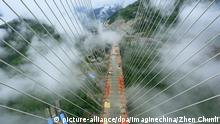 China Beipanjiang Bridge in der Provinz Guizhou