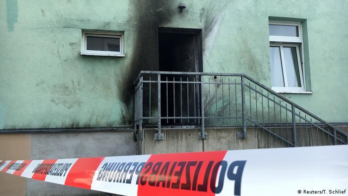 Deutschland Sprengstoffanschläge in Dresden Moschee
