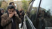 Mahmoud Ahmadinejad ehemaliger iranischer Präsident