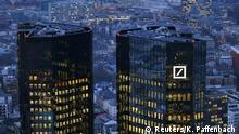 January 26, 2016*** The headquarters of Germany's Deutsche Bank is photographed early evening in Frankfurt, Germany, January 26, 2016. REUTERS/Kai Pfaffenbach/File Photo Reuters/K. Paffenbach