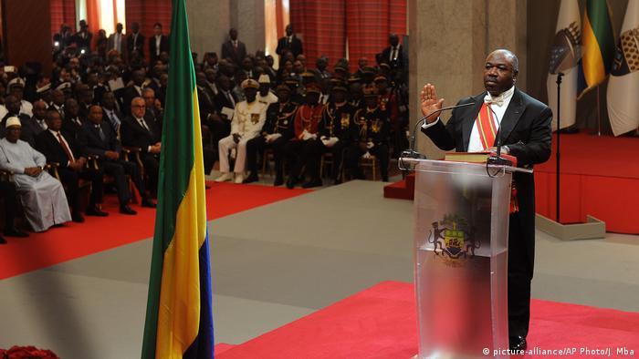 Gabun Vereidigung von Ali Bongo Ondimba