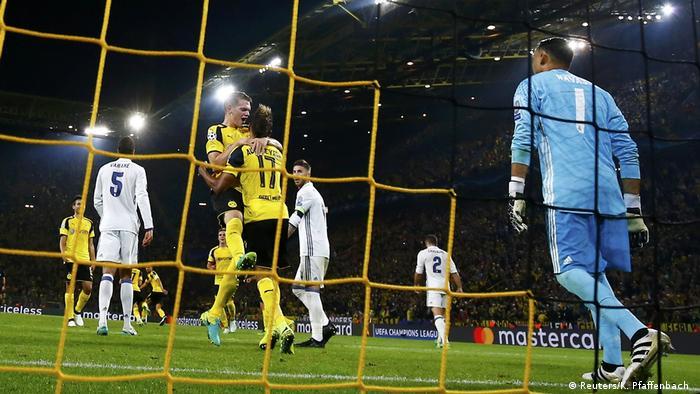 Fußball UEFA Champions League Gruppe F Borussia Dortmund v Real Madrid