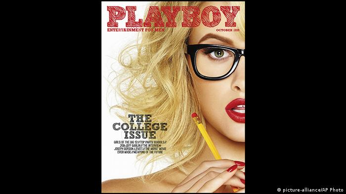 USA Playboy Cover (picture-alliance/AP Photo)