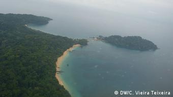 São Tomé und Príncipe Luftbild auf Santa Rita