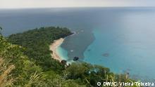 Banana Strand Príncipe Insel São Tomé und Príncipe