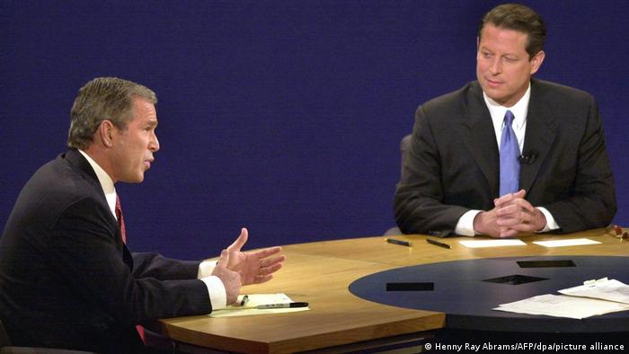 TV Duelle George Bush Al Gore (picture-alliance/dpa)