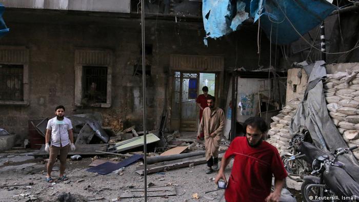 Syrien Zerstörung in Aleppo (Reuters/A. Ismail)