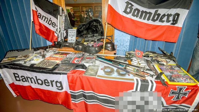 Deutschland Anklage gegen Rechtsextreme in Bamberg erhoben