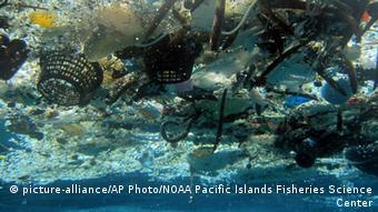 Lixo plástico no Havaí