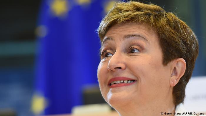 Belgien EU-Kommissarin Kristalina Georgiewa in Brüssel
