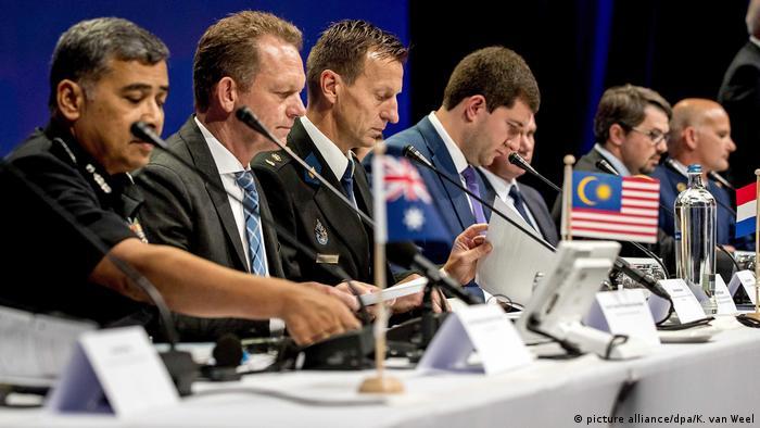 Презентация отчета следователей по катастрофе MH17
