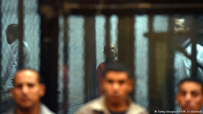 Ägypten Symbolbild Gefängnis (Getty Images/AFP/M. El-Shahed)