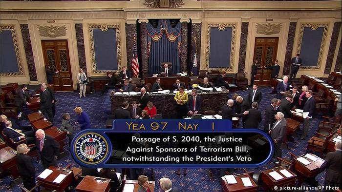 USA Senat verhindert erstmals Veto von Obama