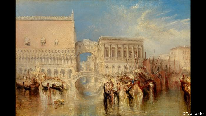 Venedig, Die Seufzerbrücke William Turner 1840, Foto: Tate, London