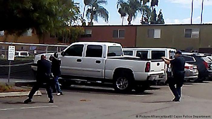 USA erneut Afroamerikaner von Polizei erschossen (Picture-Alliance/dpa/El Cajon Police Department)