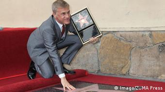 Christoph Waltz am Walk of Fame 2014